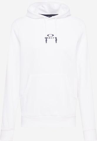 balts OAKLEY Sportiska tipa džemperis 'NEW BARK'
