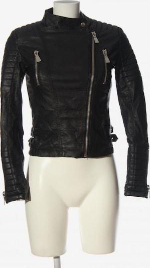 Voyelles Kunstlederjacke in S in schwarz, Produktansicht