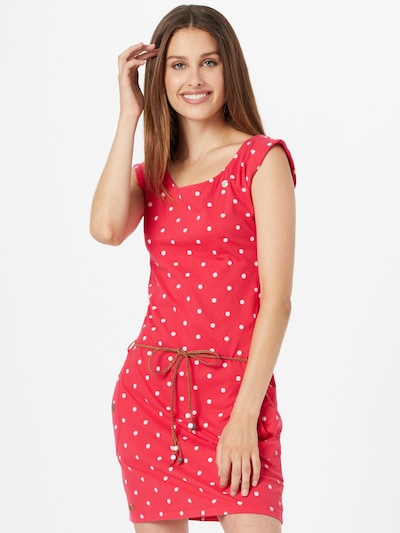 Rochie de vară 'TAG DOTS' Ragwear pe roz zmeură / alb, Vizualizare model