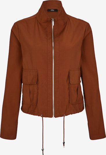 s.Oliver BLACK LABEL Jacke in rostbraun, Produktansicht