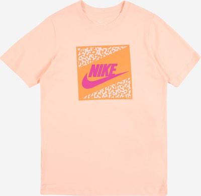 Nike Sportswear T-Krekls 'FUTURA' oranžs / koraļļu / fuksijkrāsas / balts, Preces skats