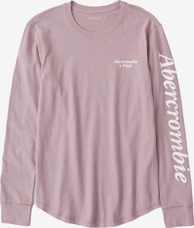 Abercrombie & Fitch Shirt in de kleur Oudroze / Wit, Productweergave