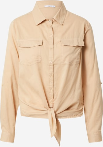 Hailys Blouse 'Dina' in Beige