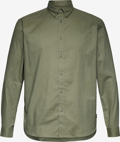 ESPRIT Zakelijk overhemd in de kleur Kaki, Productweergave