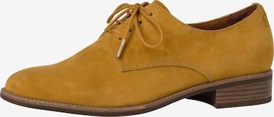 TAMARIS Schnürschuh in gelb, Produktansicht
