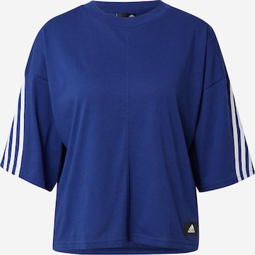 ADIDAS PERFORMANCE Λειτουργικό μπλουζάκι σε μπλε