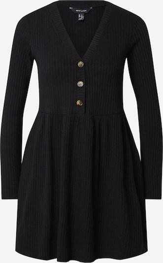 NEW LOOK Robe en noir: Vue de face