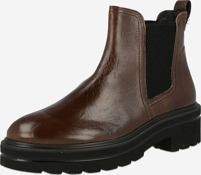 Paul Green Chelsea Boots in sepia / schwarz, Produktansicht
