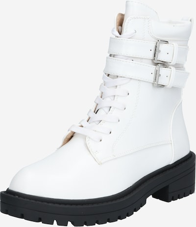 Raid Lace-up bootie 'ROGER' in Nature white, Item view