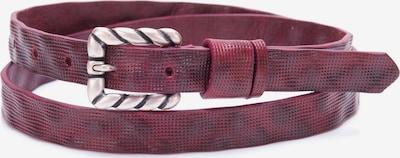 BA98 Ledergürtel in rot, Produktansicht