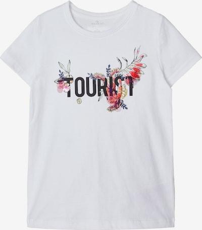 NAME IT T-Shirt in mischfarben / weiß, Produktansicht