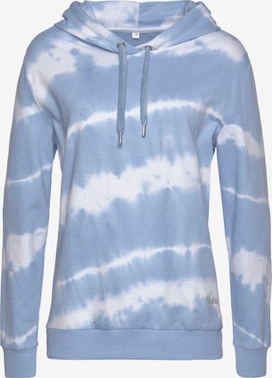 Bluză de molton BUFFALO pe albastru deschis / alb, Vizualizare produs
