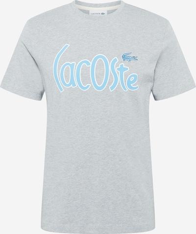 LACOSTE Tričko - svetlomodrá / sivá melírovaná / biela, Produkt