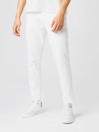 ESPRIT Pantalon chino en blanc, Vue avec modèle