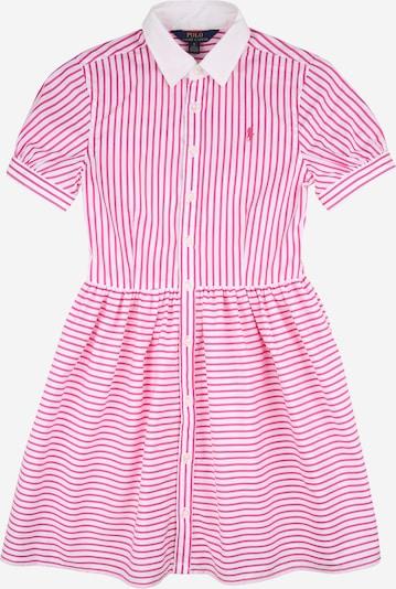 POLO RALPH LAUREN Šaty - pink / bílá, Produkt