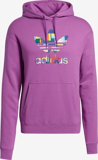 ADIDAS ORIGINALS Sweatshirt in de kleur Donkerlila, Productweergave