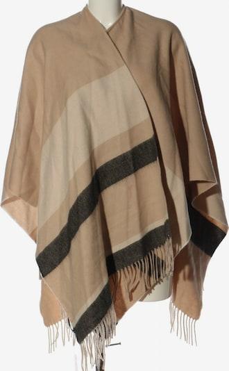 Paris Atelier Poncho in XS-XL in nude / braun / khaki, Produktansicht