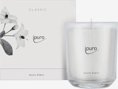 ipuro Kerzen 'Blanc Candle' in weiß, Produktansicht