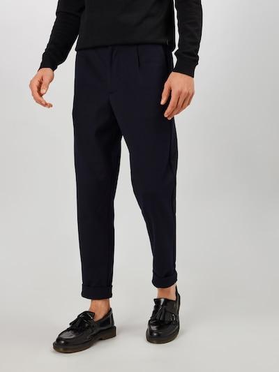 SELECTED HOMME Bukser i mørkeblå, Modelvisning