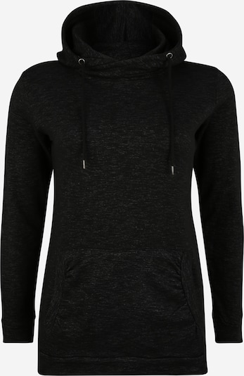 Urban Classics Curvy Sweatshirt in black mottled, Item view