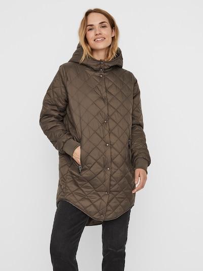 VERO MODA Manteau d'hiver 'VMHAYLE' en gris, Vue avec modèle