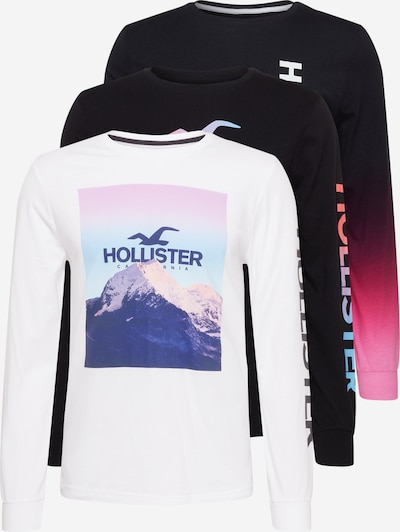 HOLLISTER Shirt in Blue / Mixed colors / Black / White, Item view
