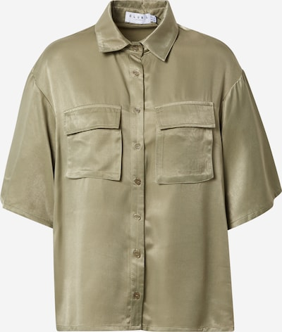 CLUB L LONDON Bluse in oliv, Produktansicht