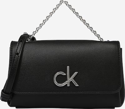 Calvin Klein Skuldertaske i sort / sølv, Produktvisning