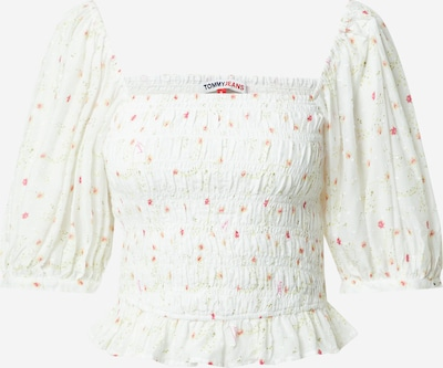 Tommy Jeans Shirt in de kleur Pink / Wit, Productweergave