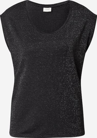 JDY Shirt 'RUNA' in schwarz / silber, Produktansicht
