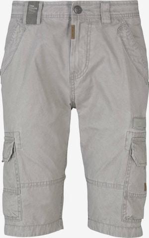 TOM TAILOR Shorts in Grau