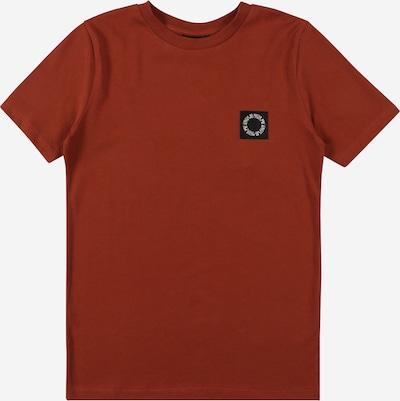 LMTD T-Shirt 'Noonie' in rostbraun / schwarz / weiß, Produktansicht