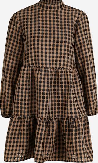OBJECT (Petite) Robe 'Arrie' en marron / noir, Vue avec produit