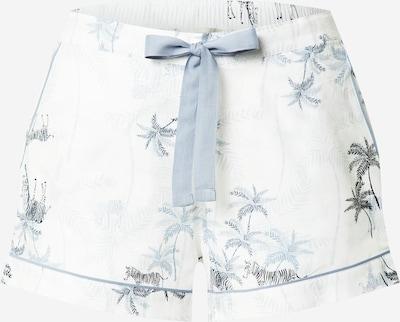 Cyberjammies Pantalon de pyjama 'Molly' en bleu foncé / noir / blanc, Vue avec produit