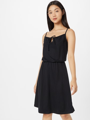 ESPRIT Лятна рокла в черно