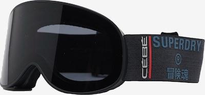 Superdry Snow Sportbrille 'Attraction' in rauchblau / hellrot / schwarz / weiß, Produktansicht