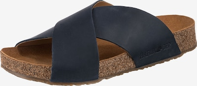 HAFLINGER Pantolette 'Mio' in dunkelblau, Produktansicht