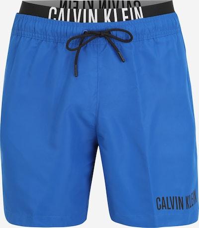 Calvin Klein Swimwear Uimashortsit värissä kuninkaallisen sininen / musta / valkoinen, Tuotenäkymä