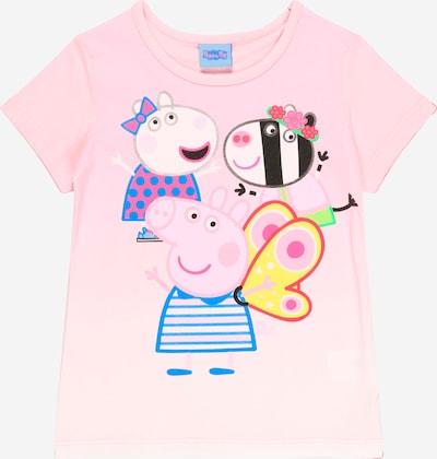 Peppa Pig T-Shirt in royalblau / gelb / rosa / schwarz, Produktansicht