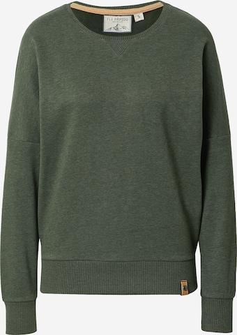Fli Papigu Sweatshirt in Grün