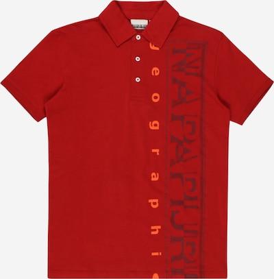 NAPAPIJRI Tričko 'EADYR' - tmavomodrá / červená, Produkt
