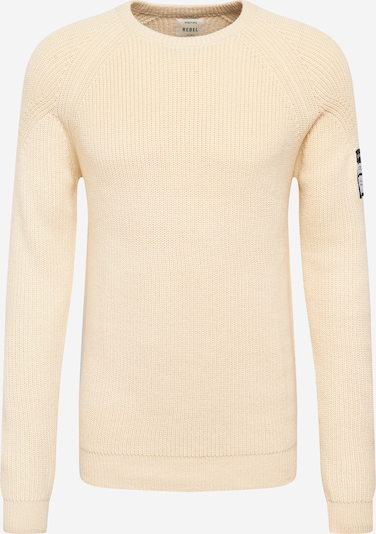 Pullover 'Bishop' Redefined Rebel di colore beige, Visualizzazione prodotti