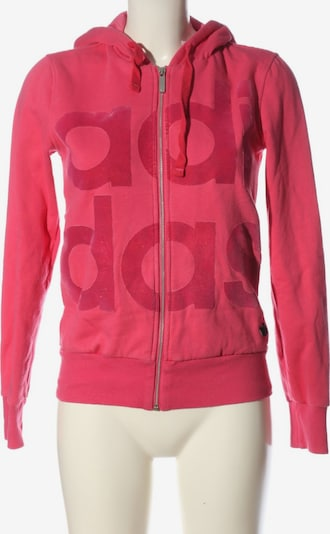 ADIDAS Sweatjacke in S in pink, Produktansicht
