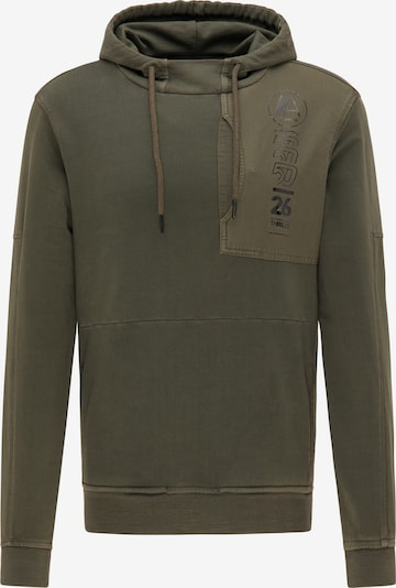 Petrol Industries Sweatshirt in de kleur Kaki, Productweergave