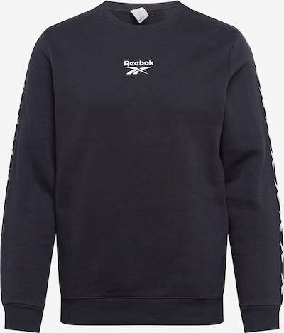 REEBOK Bluzka sportowa w kolorze czarny / białym, Podgląd produktu