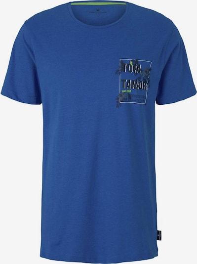 TOM TAILOR T-Shirt in blau / blaumeliert, Produktansicht