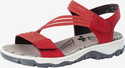 RIEKER Sandalias en rojo fuego, Vista del producto