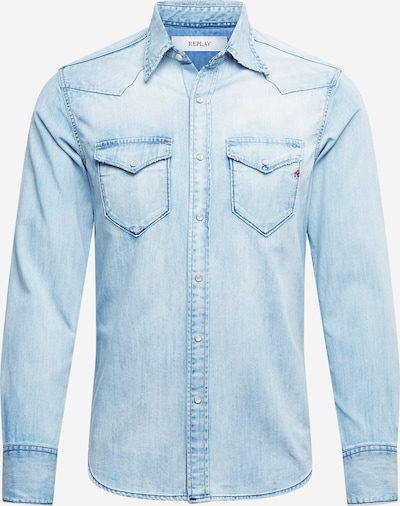 REPLAY Hemd in azur, Produktansicht