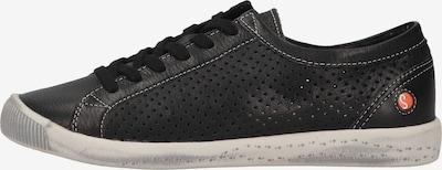 Softinos Sneakers laag in de kleur Zwart, Productweergave