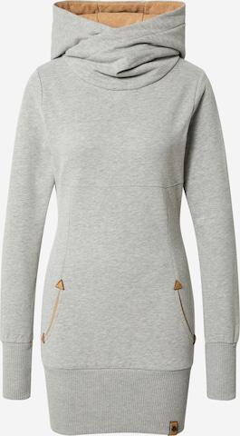 Fli Papigu Sweatshirt 'Flunker mit Mir' in Grey